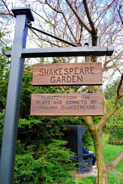 Shakespeare Garden Brooklyn Botanic Garden