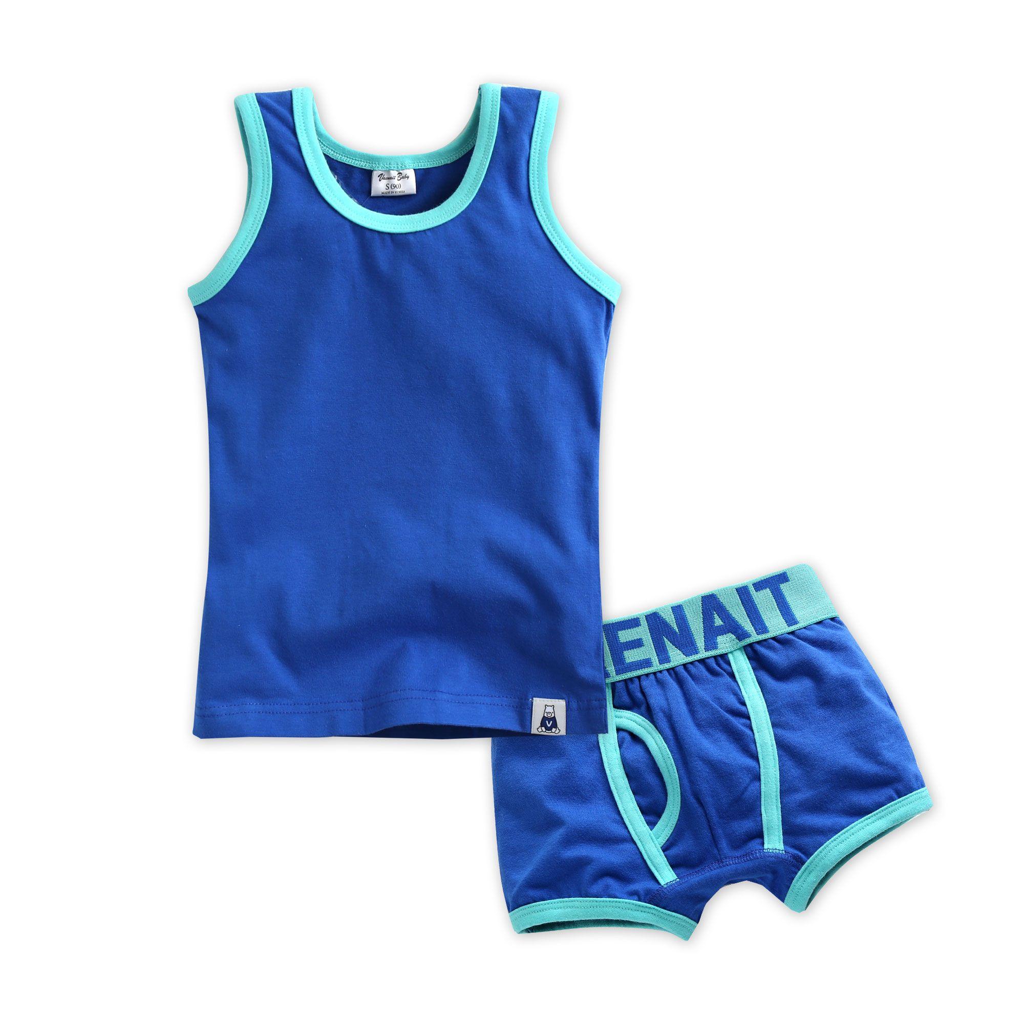 """Vaenait Baby Kids  Brief Short Underwear Girls Pantie Set /""""Mint N Berry/"""" 2T-7T"""