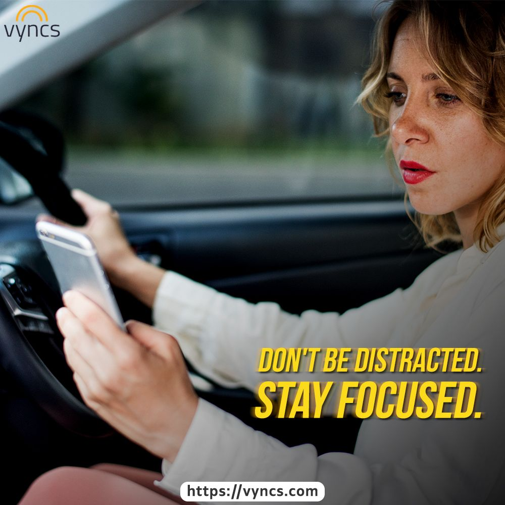 It is easy to lose concentration on the road when your