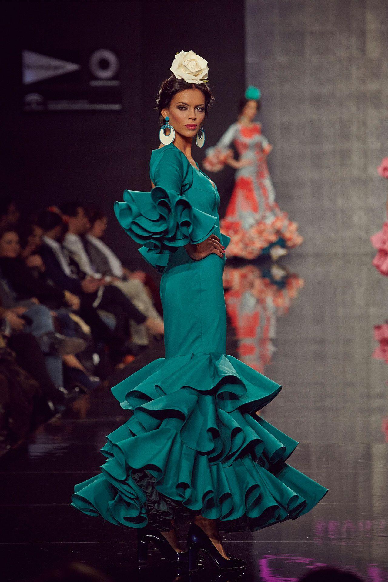 10-traje-flamenca-turquesa  1d8dc05ea4a