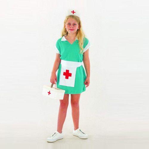 Kids Nurse Cosplay Costume