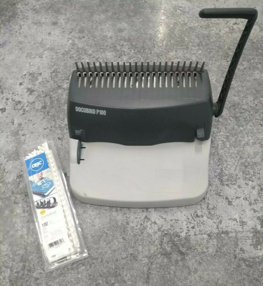 GBC Docubind P100 Binding Machine Paper Comb Punch Binder