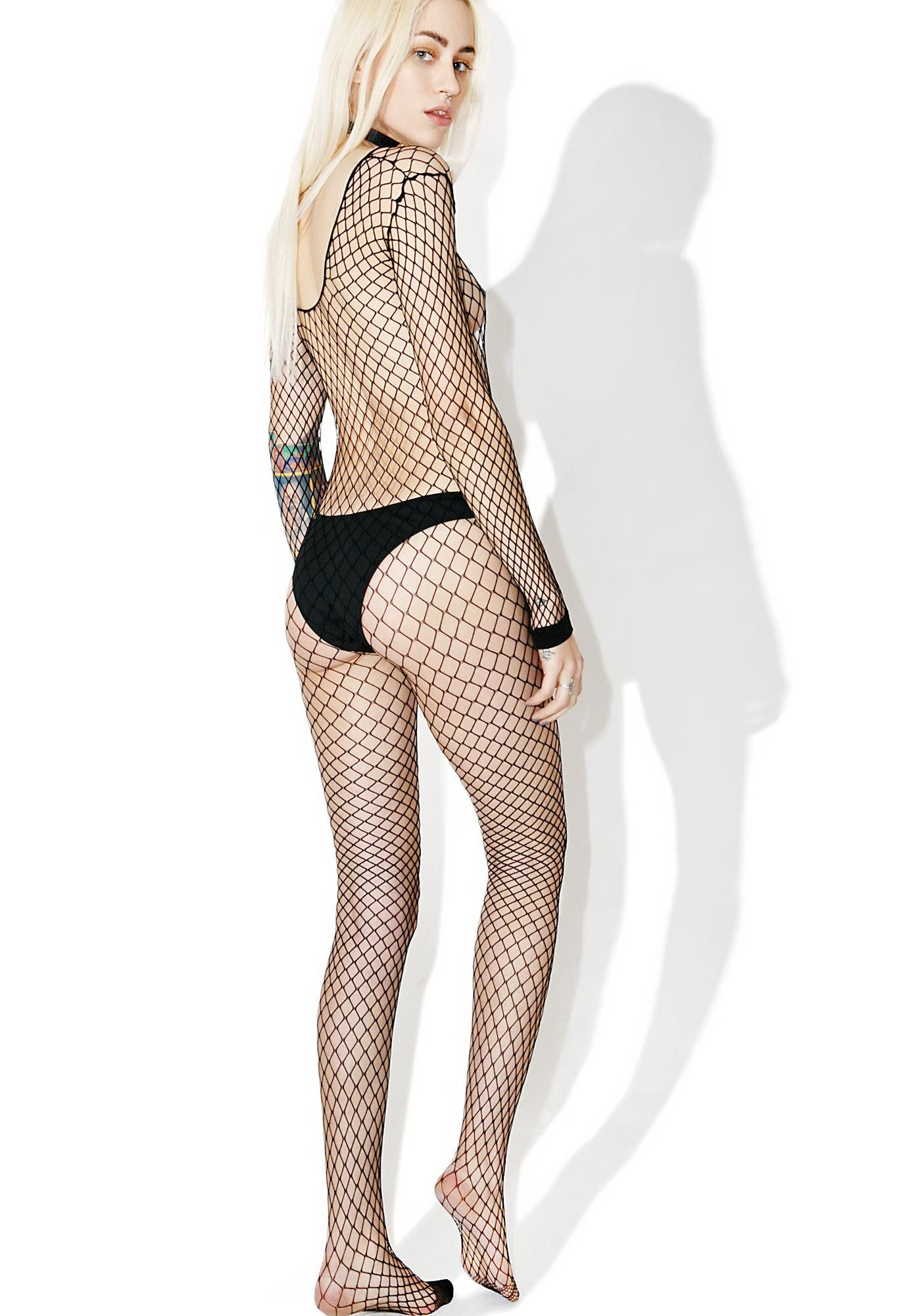 e97f55aa212 Slipstream Fishnet Body Stocking Fishnet Bodysuit