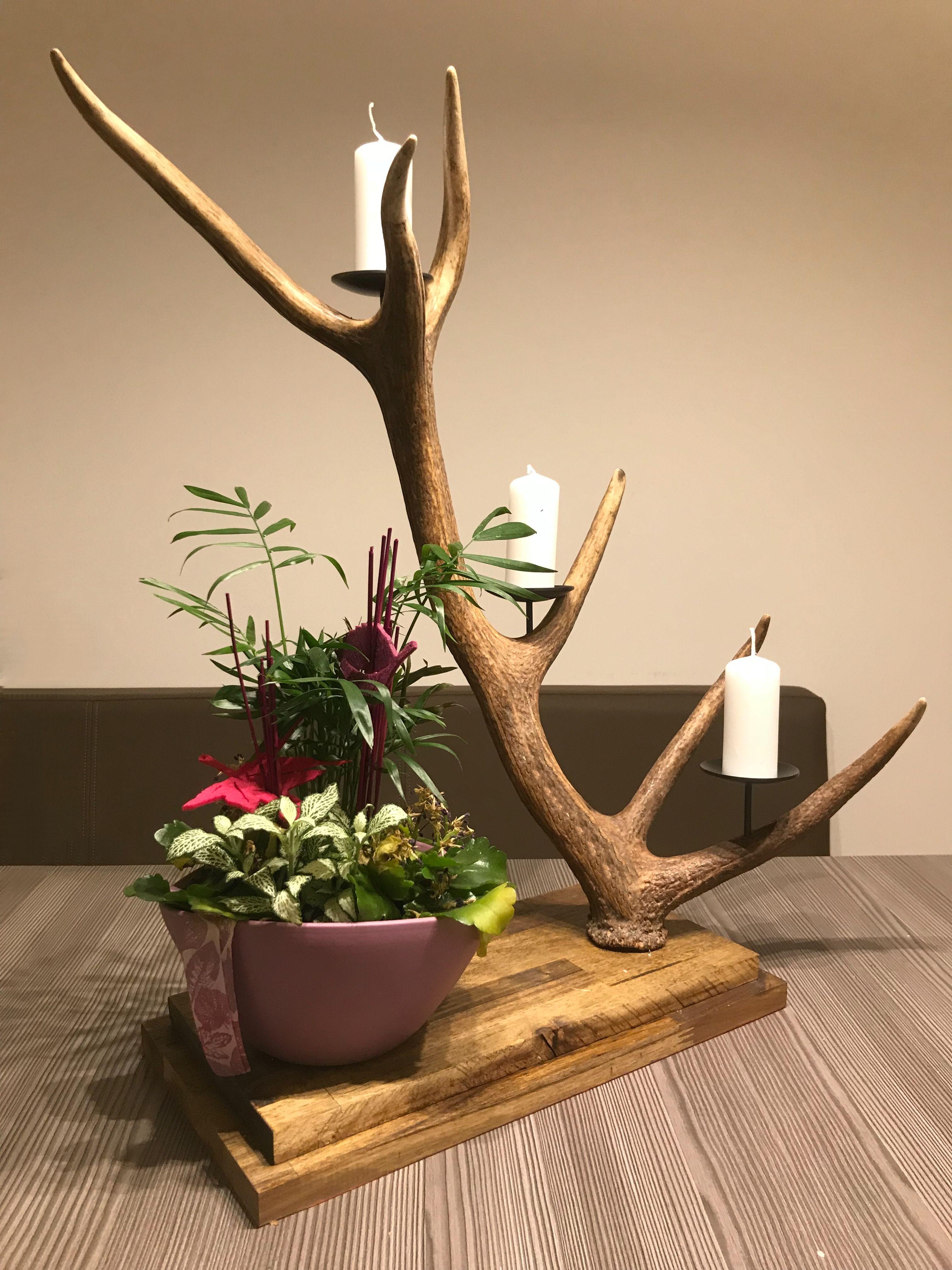 kerzenhalter aus geweih ist ein hervorragendes geschenk f r jeden j ger pinterest. Black Bedroom Furniture Sets. Home Design Ideas