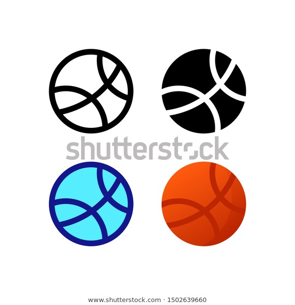 Find Basketball Logo Icon Design Four Style Stock Images In Hd And Millions Of Other Royalty Free Stock Photos Illustratio Icon Design Logo Icons Styled Stock