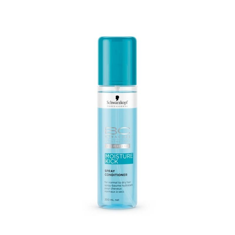 Schwarzkopf Professional BC Hairtherapy Cell Perfector Moisture Kick Spray Conditioner 200ml.