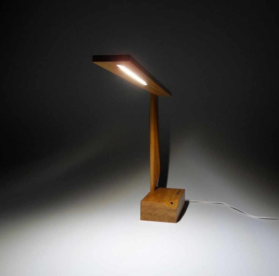 Up To The Task 10 Contemporary Table Lamps With Ingenious Designs Wooden Table Lamps Table Lamp Wood Lamp