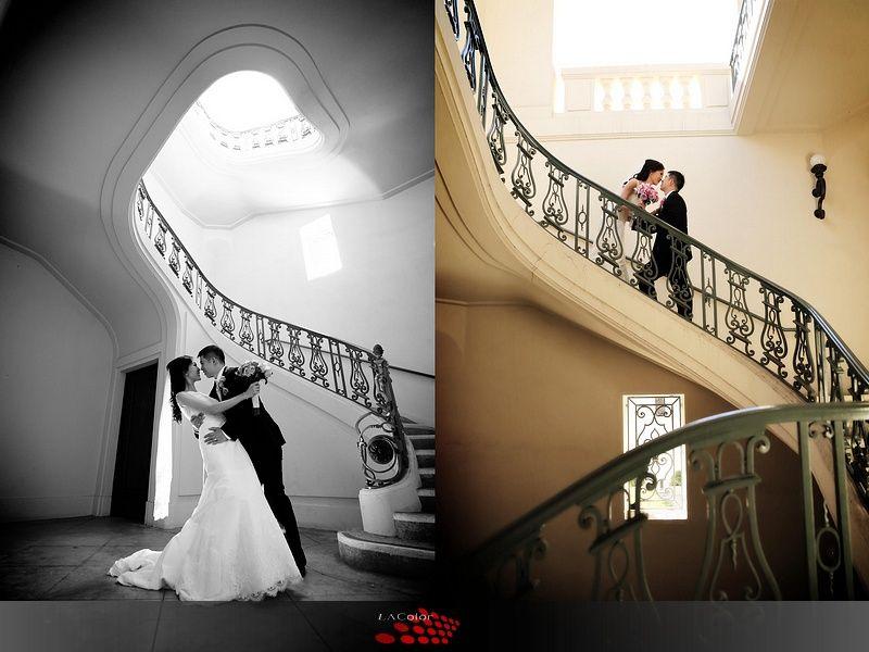 Pasadena City Hall Love The Stairs And Dancing Pose City Hall Wedding Photos Pasadena City Hall City Hall Wedding