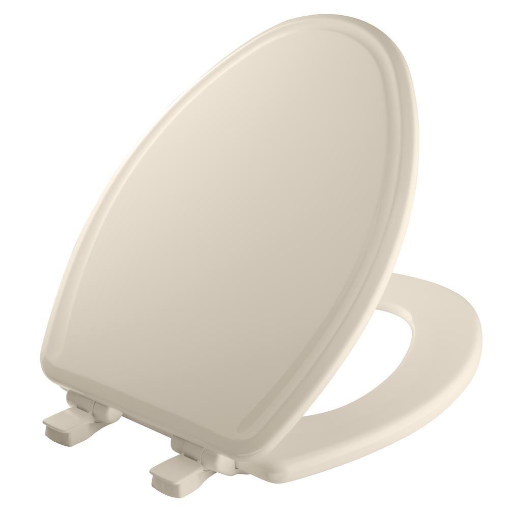Bemis Elongated Closed Front Toilet Seat In Toilet Toilet Bowl