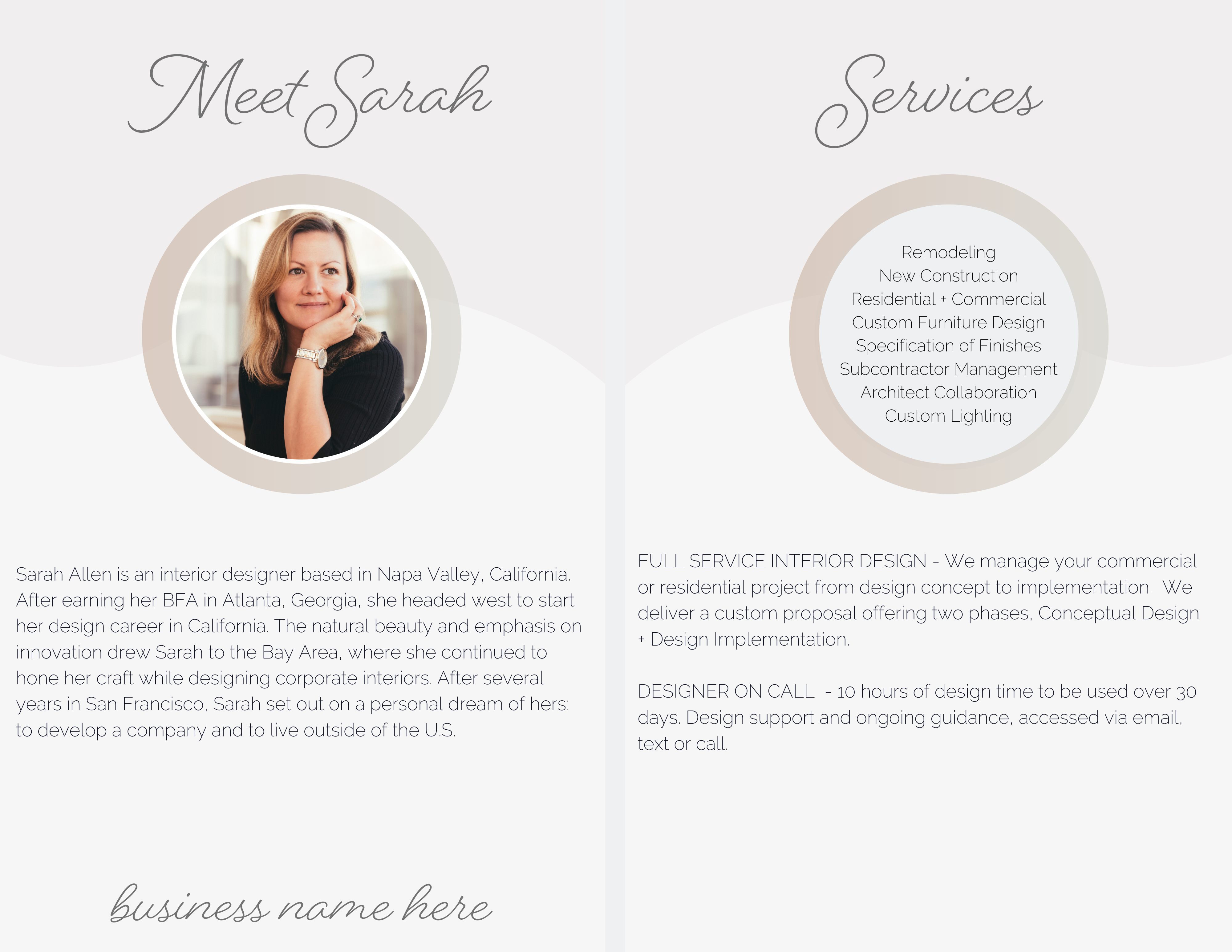 Client Welcome Packet Template for Interior Designers and ...