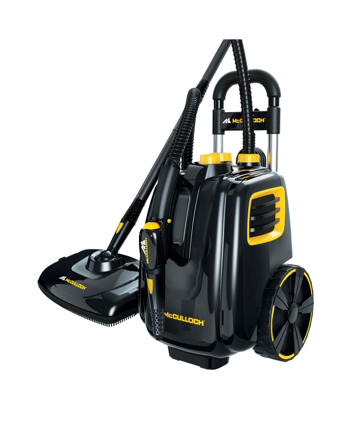 Mcculloch 1385 Deluxe Canister Steam Cleaner 4 Bar Multi In 2020 Steam Cleaners Versatile Accessories Cleaners