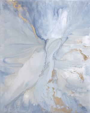 Soft Awakening Original Painting In 2020 Abstract Drip Painting Abstract Art Painting