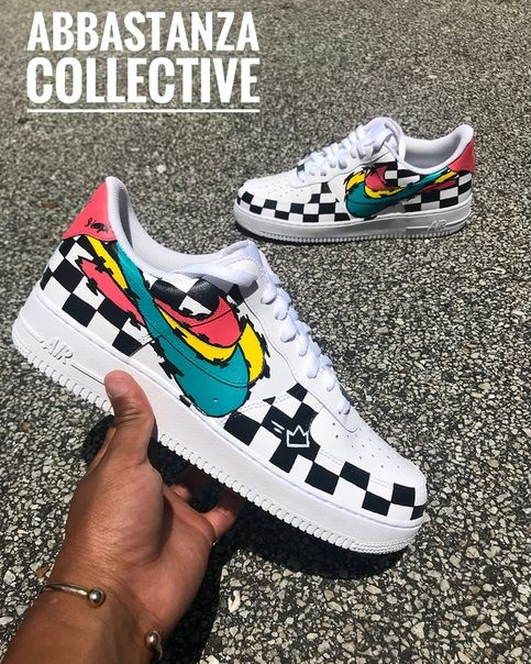 Nike Air Force 1 Low Custom #airjordan1outfitwomen