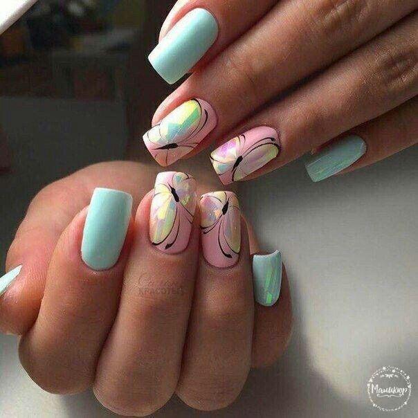 Pin by Elena on Ldizain | Best nail art designs, Butterfly ...