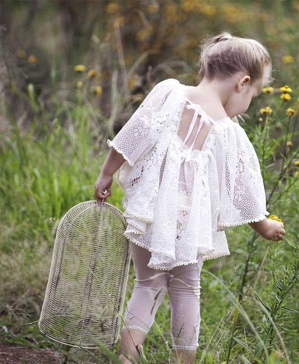 Dollcake Cream Wild At Heart Mini Dress