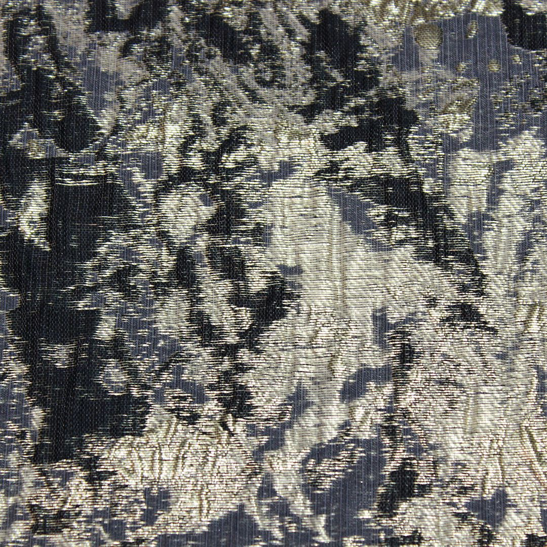 Black Pressed Foil - Mosaic, Inc. : another black + metallic linen that brings the perfect pattern and shine to event design. #tablecloths