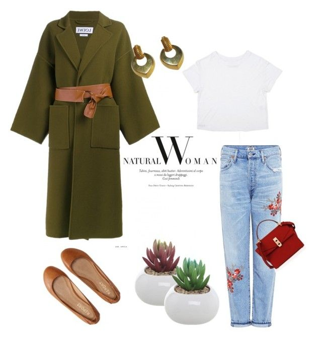 """Autumn in the city/Otoño en la ciudad"" by lopaperdolls on Polyvore featuring Citizens of Humanity, Aéropostale, Loewe, Henri Bendel and Givenchy"
