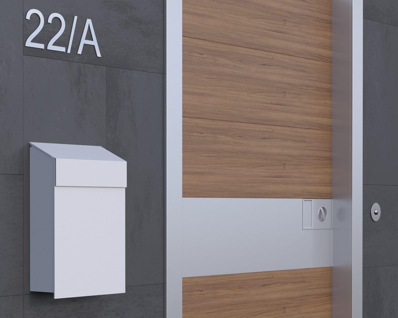 Modernes Design in einem kleinem Modell. Gefällt euch? :) #mailbox ...