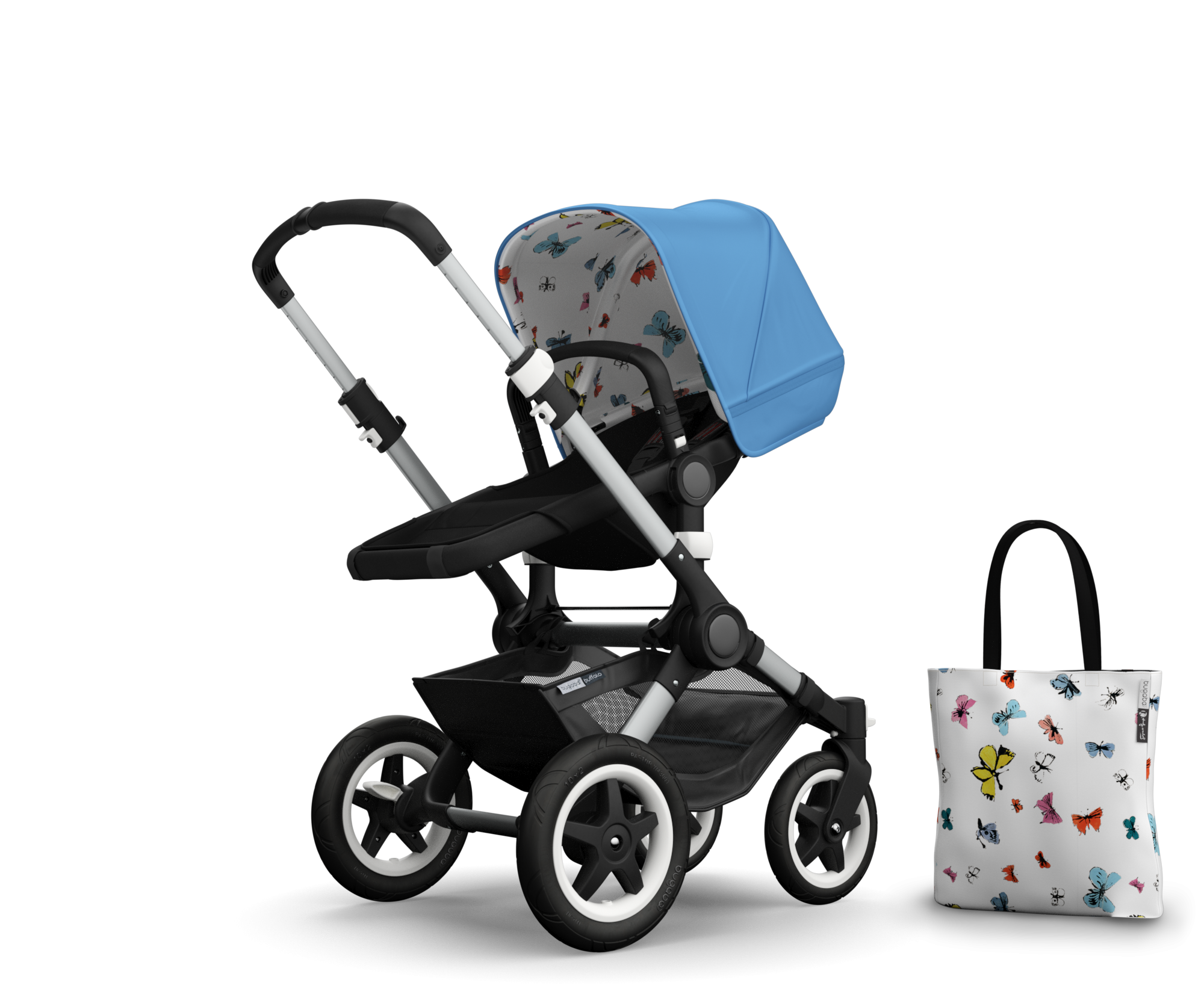 the all-terrain pushchair u2013 bugaboo buffalo (United Kingdom) English  sc 1 st  Pinterest & bugaboo-buffalo-aw-pack-butterflies | kinder | Pinterest | Bugaboo ...