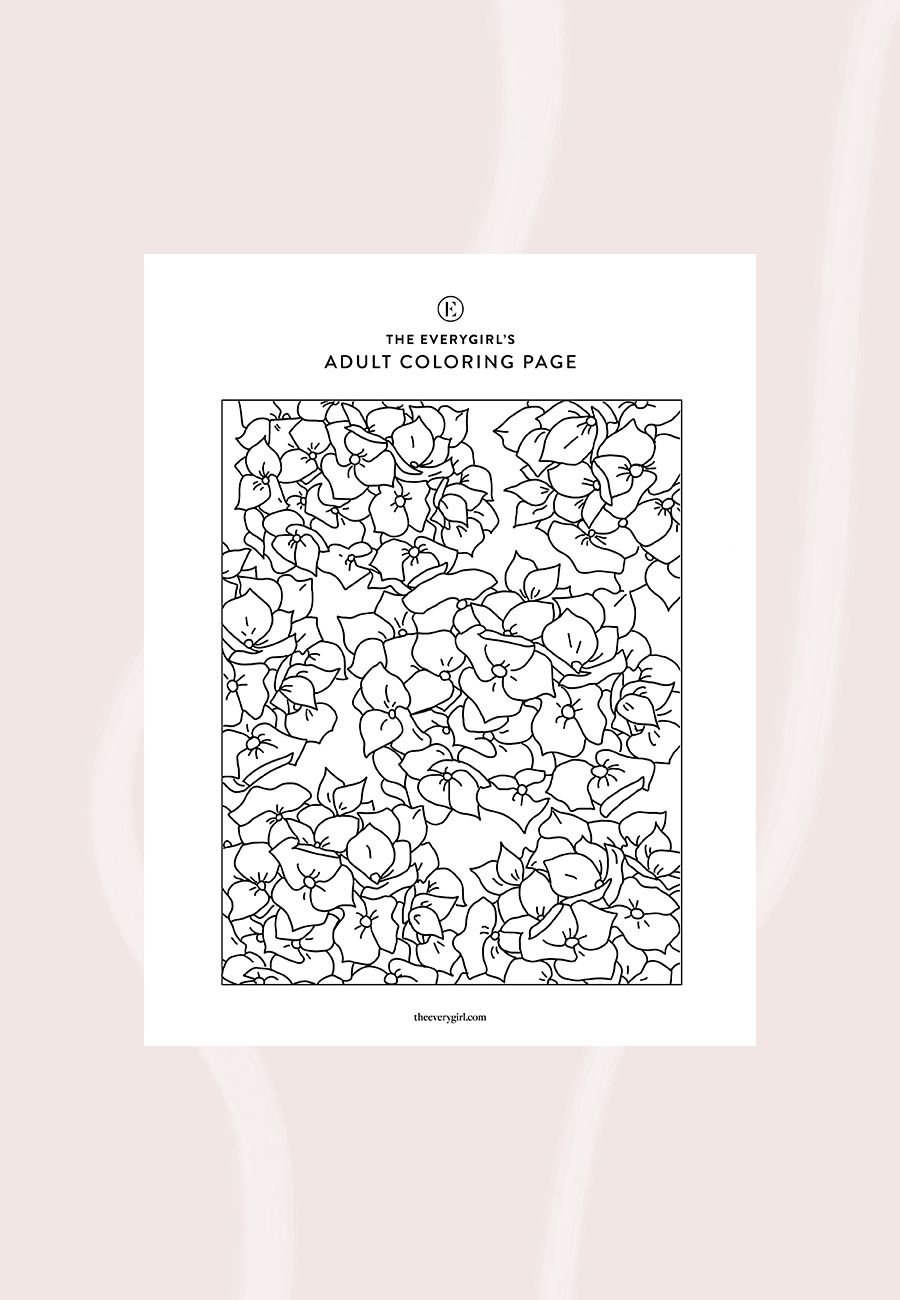 New The Everygirl S Free Printable Coloring Pages Free Printable Coloring Pages Coloring Pages Printable Coloring Pages
