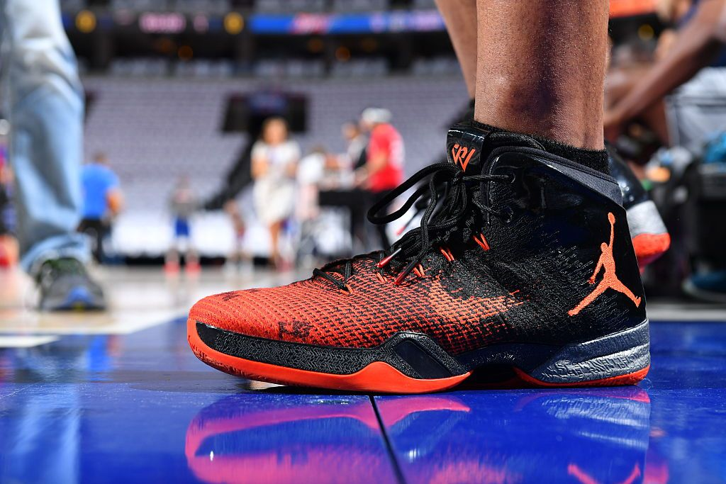 Nike shoe · #WhyNot 2016-17 PE #NBAKicks worn by the always stylish Russell  Westbrook of