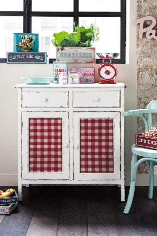 Baumwollstoff Und Vintage Stil In Ihrer Kuche Einrichtungsideen