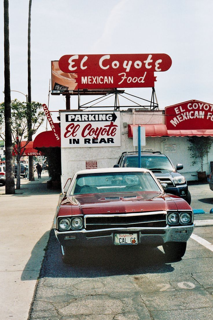 L Coyote Mexican Restaurant In Los Angeles Ca 7312 Beverly Blvd Retro Aesthetic Aesthetic Vintage Retro