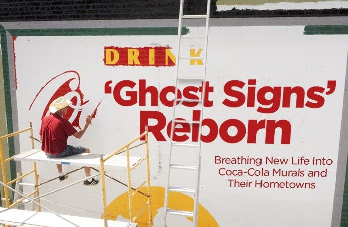 'Ghost Signs' Reborn: Restored Coca-Cola Murals Refresh Southern Downtowns