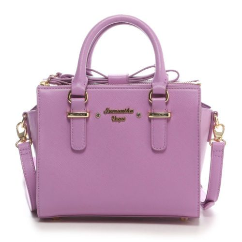 bb2eede75c1c Samantha Thavasa Vega❤2WAY Box Bow Bag Small Handbag Kawaii Cute ...
