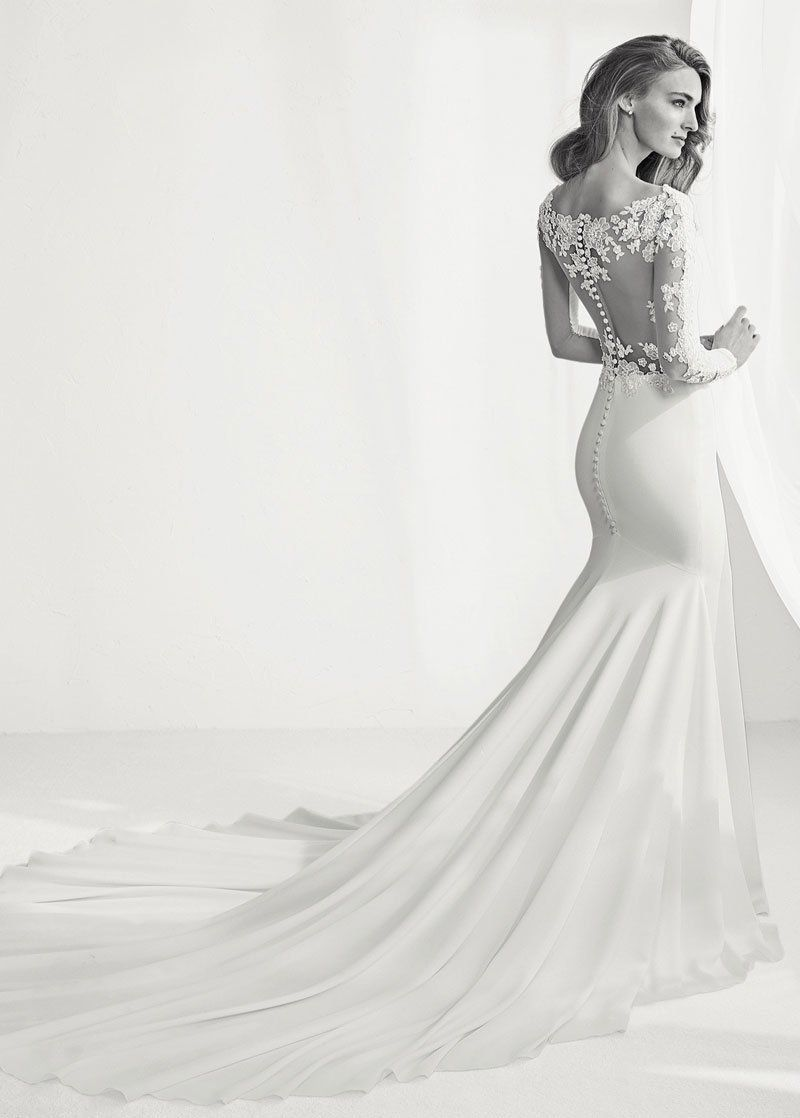 40++ Stretchy mermaid wedding dress info