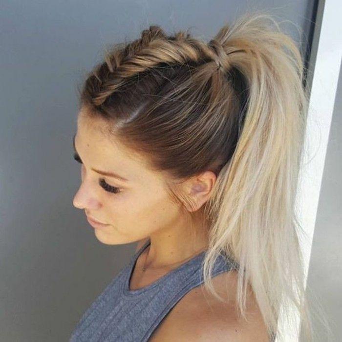Top La coiffure queue de cheval - les variantes en photos et en vidéos  NY35