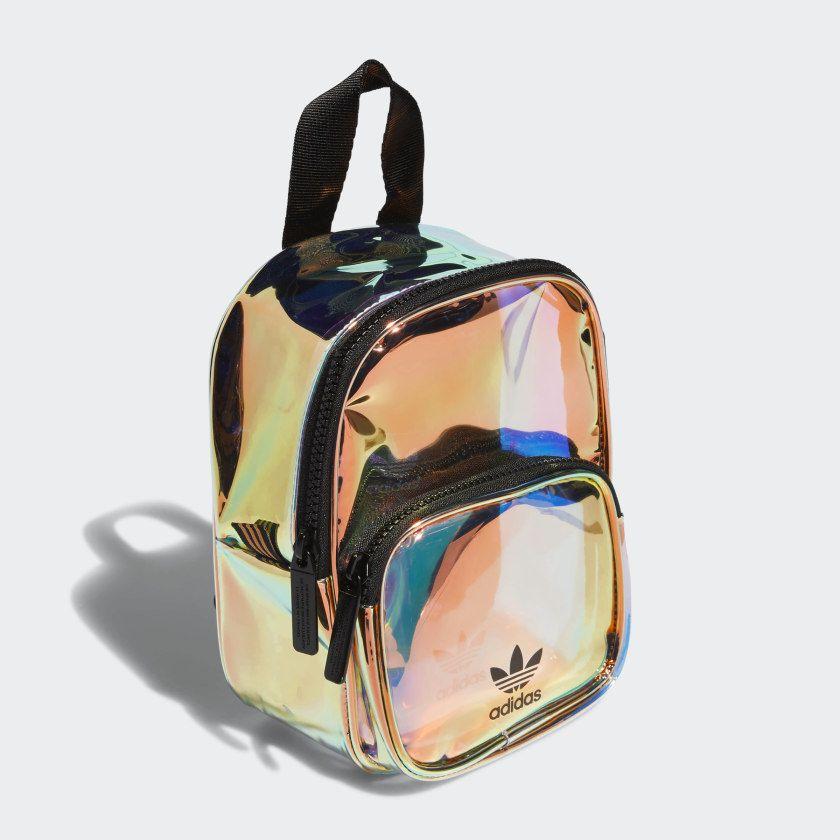 e05764c647 adidas Mini Iridescent Backpack in 2019 | Fashion | Backpacks, Mini ...