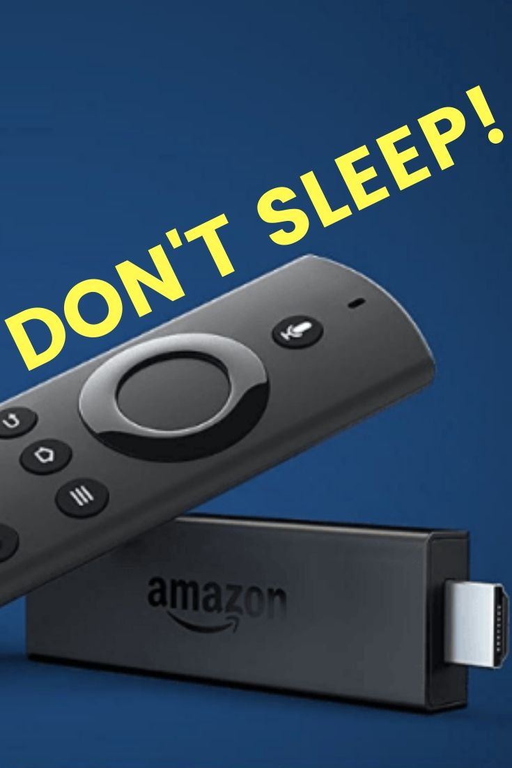 How to Prevent Fire TV Stick from Going to Sleep (2