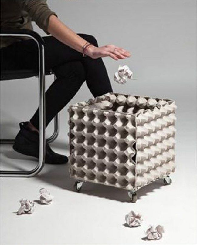 25 ideas para transformar cajas de huevos en objetos for Objetos para el hogar