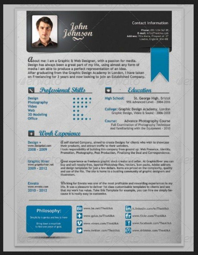 Creative Resume Template Microsoft Word Example Creative Resume Template Free Resume Template Professional Resume Template Free