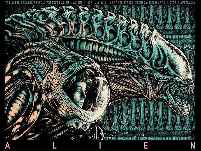 "ALIEN COVENANT CANVAS Aliens Poster Photo Pic Print Wall Art 30/""x20/"" CANVAS"