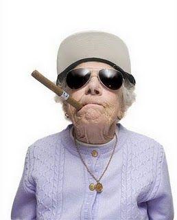 2a18c752e1 Gangsta old lady