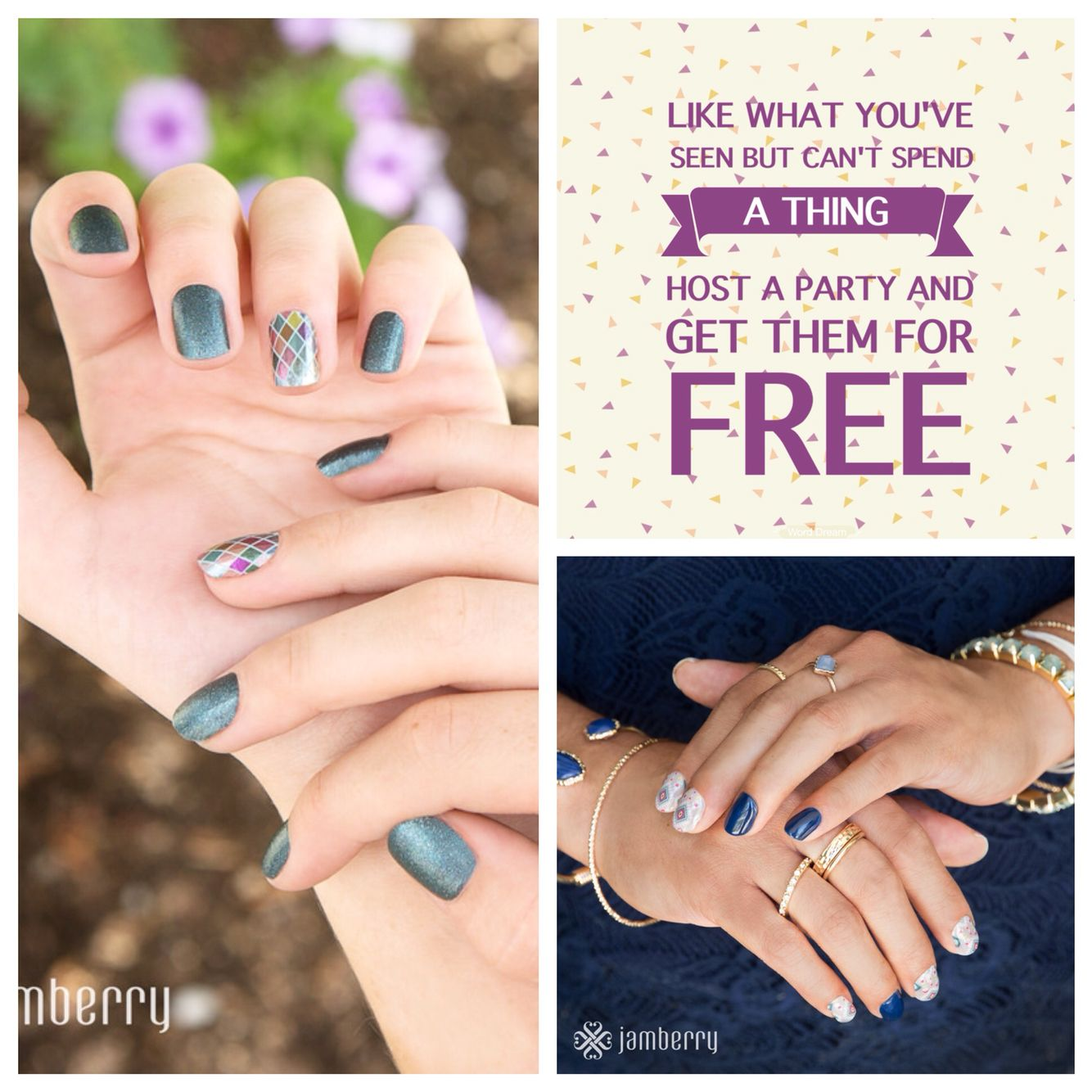 How I get my Jamberry for free