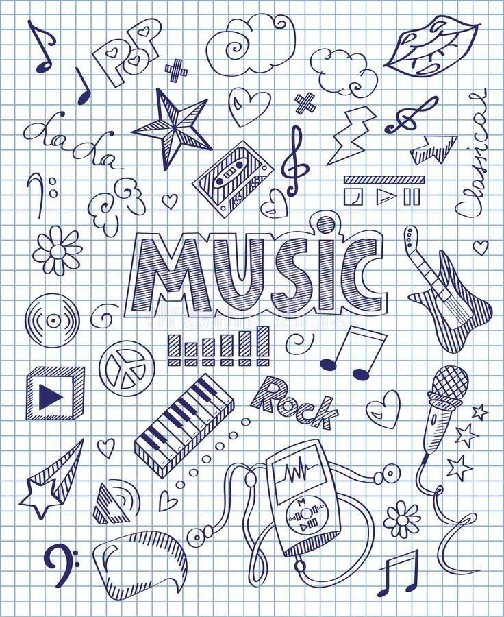 Pin Von Rawan Auf Homework Deckblatt Schule Skizzenbucher Kritzel Zeichnungen