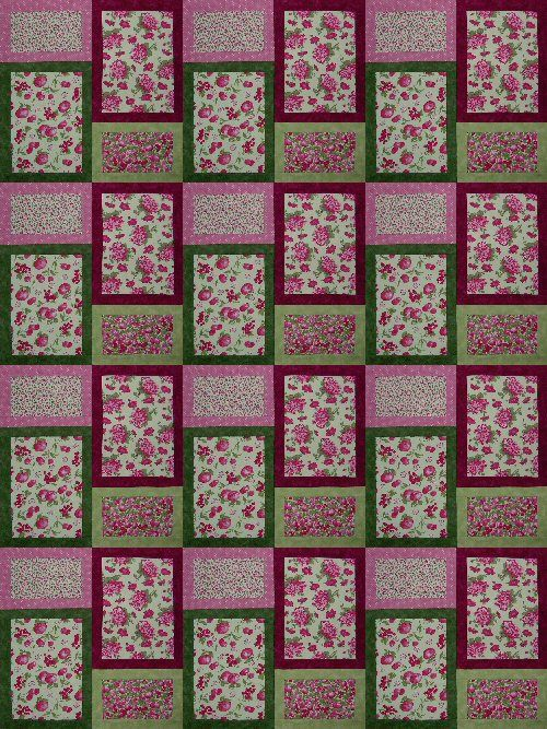 Very Easy Quilt Patterns | quilt size 54 x 72 a great quick easy ... : quick quilt ideas - Adamdwight.com