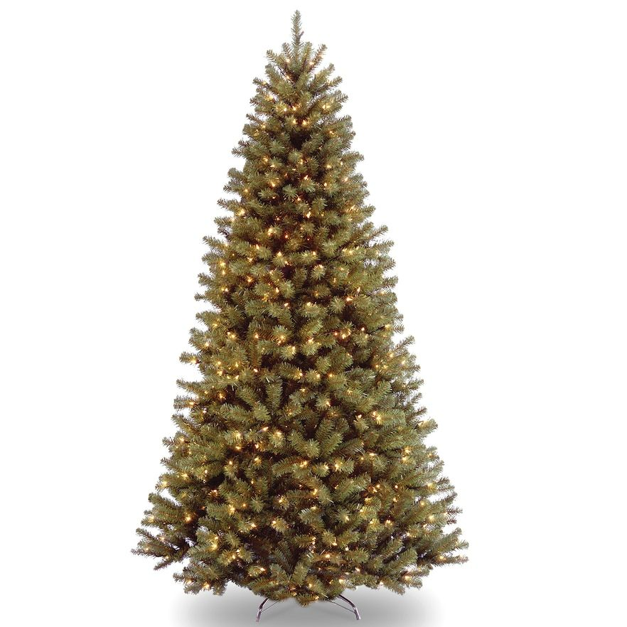 National Tree Co 7 1 2 North Valley Spruce Hinged Artificial Christmas Tree With Clear Lights In 2020 Best Artificial Christmas Trees Pre Lit Christmas Tree Spruce Christmas Tree