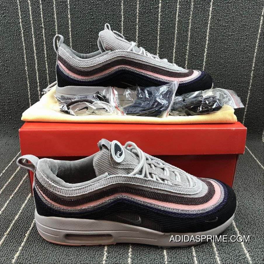 0b3b8125ca6 Nike Air Max 97 1 VF SW Corduroy Retro Zoom Running Shoes Size AJ4219-406  Free Shipping
