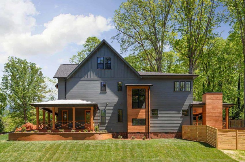 Pike Properties build stunning Modern Farmhouse in the