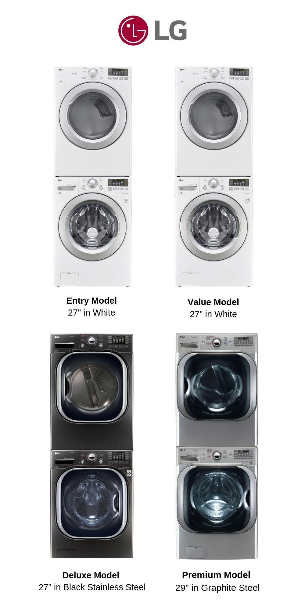 Best Lg Stackable Washer And Dryer For 2019 Review Lg Washer And Dryer Washer Dryer Laundry Room Best Washer Dryer