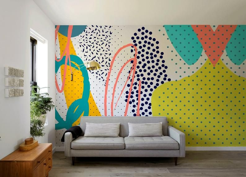 Peel and Stick Wallpaper Removable Wallpaper Wall