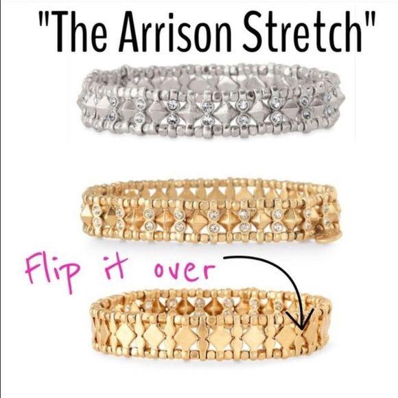Stella and Dot Arrison stretch bracelet goldtone Really cute! Stella & Dot Jewelry Bracelets