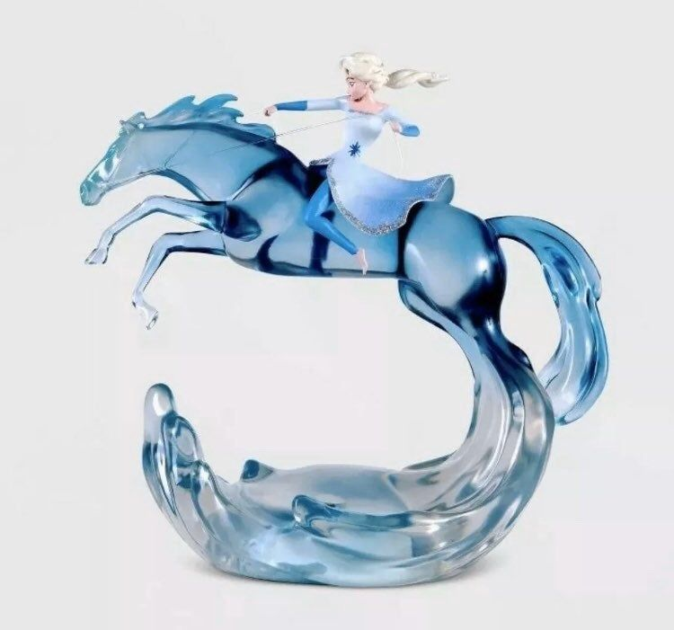 Disney Frozen 2 Elsa And Water Spirit Mood Light Figurine Nokk Novelty Rare Disney Frozen Disney Frozen 2 Frozen Birthday