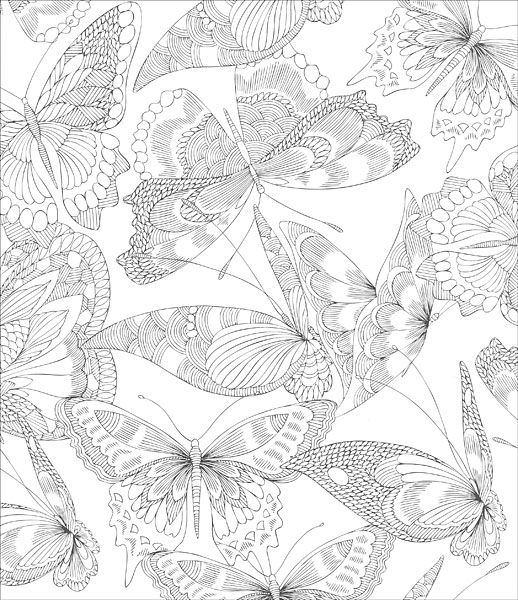 Tropical World Coloring Book From KnitPicks Knitting By Millie Marotta