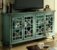 High Quality Chinese Chippendale Cabinet With Glass Doors