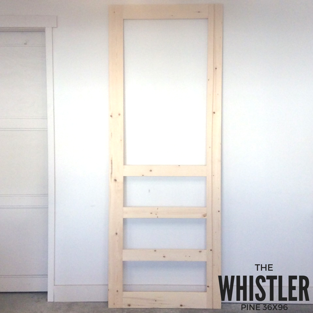 The Whistler Superior Screen Doors Screen Door Wood Screen Door Wood Screens